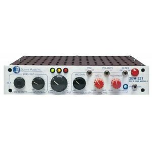 SUMMIT AUDIO 2BA-221 - Pré-ampli micro / ligne
