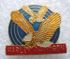 Pin's HARLEY DAVIDSON avec 2 aigles Eagle #F1