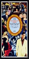 L100 Plakat La Dolce Vita Friedrich Fellini Anita Ekberg Marcello Mastroianni