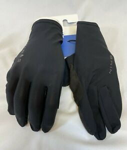 Santini Guard Nimbus Rain Cycling Gloves in Black - Size M - Made in Italy