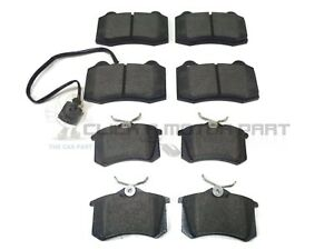 SEAT LEON CUPRA R 1.8 20V TURBO 2002-2005 FRONT & REAR MINTEX BRAKE DISC PADS