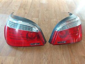 BMW 5 SERIES E60 LCI 2009 REAR LIGHTS SET LED DRIVER AND PASSENGER SIDE HELLA