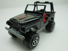 Majorette Jeep 4X4 No.290 Made In France 1/54 Scale (Loose Item)