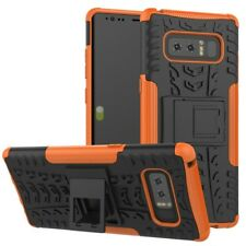 Hybrid Case 2teilig Outdoor Orange Tasche Hülle für Samsung Galaxy Note 8 N950F