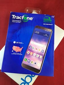 *SEALED NEW* LG Solo LTE Prepaid Smart Phone (Tracfone) 16GB 5.7' 8MP