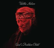 WILLIE NELSON GOD'S PROBLEM CHILD CD ALBUM (New Release April 28th 2017)