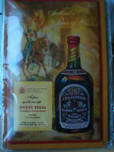 Blechschild scotch whiskey Whisky Kneipe Bar Deko 20x30 gewölbt