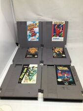 NES Lot Double Dragon III Super Mario 2 Ultima Metal Gear Friday 13th Flying