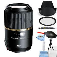 Tamron 90mm f/2.8 SP Di MACRO 1:1 VC USD Lens for Canon! STARTER KIT BRAND NEW!!