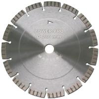Diamanttrennscheibe Ø230mm, Trennscheiben für Granit, Beton, Pflaster, Mauerwerk