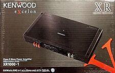 KENWOOD EXCELON XR1000-1 1000 WATTS RMS CLASS D MONOBLOCK CAR AUDIO AMPLIFIER