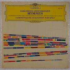 STOCKHAUSEN: Hymnen Electronic / Concrete DGG 2707 039 lp ORIG NM WOW!