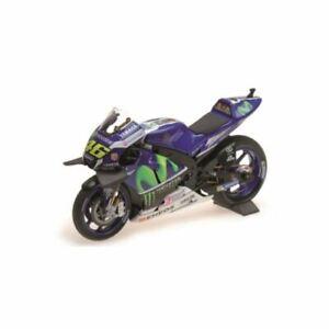 Minichamps 182163246 Yamaha YZR-M1 M star V Rossi Winner Catalunya MotoGP 2016