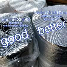 EPE reflective foil heat barrier air roof wall floor attic loft insulation cell