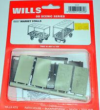 New Wills Scenic Gauge Market Stalls SS37