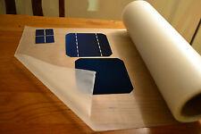 Cura rápido Hoja de Encapsulación Eva Para Paneles & célula solar Hágalo usted mismo 1m X 55cm