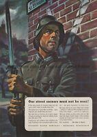 US Patriotic Poster WW2 WWII print german soldier Stahlhelm iron cross veteran