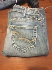 05e87897986 Big Star Maddie Boot Cut Jeans Size 26S 26x28 Bke Buckle