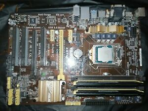Mainboard ASUS Z-87K + CPU Intel i5 4670K + 16GB Corsair VengeanceLP 1600Mhz RAM