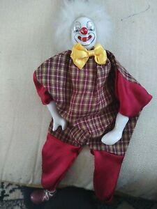 Vintage Porcelain clown