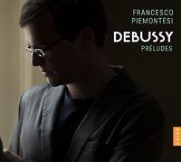 FRANCESCO PIEMONTESI - PRELUDES  CD NEW DEBUSSY,CLAUDE