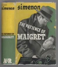 The Patience of Maigret by Georges Simenon (1st Australian) Haycraft-Queen