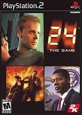 24: The Game PlayStation 2 PS2 -- CIB