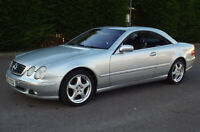 Mercedes-Benz CL500 5.0 V8 Coupe Auto 2000 Upgraded SATNAV Sunroof Full MOT