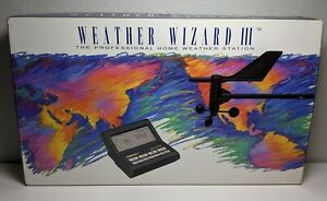 Davis WEATHER WIZARD III 7425 Professional Home Weather Station, new in open box