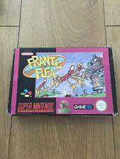 Frantic Flea-SNES Super Nintendo