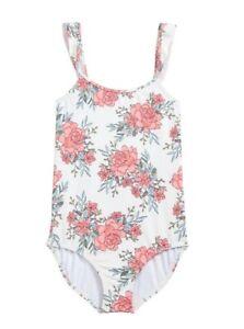 Billabong Girls Kids Nova Floral One Piece Swimsuit Multicolor Size 6X 4578