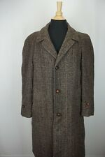 Harris Tweed VINTAGE Scottish Donegal Rainbow Speckled Unstructured Coat 40