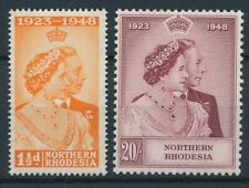 [55165] Nothern Rhodesia 1948 good set MH Very Fine stamps