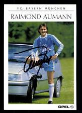 Raimond Aumann Autogrammkarte Bayern München 1989-90 Original Signiert  +A52748