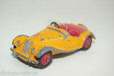 DINKY TOYS 102 MG M.G. MIDGET SPORTS CAR ORANGE EXCELLENT CONDITION