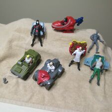 2004 MCDONALDS G.I. JOE Hasbro lot 7 FIGURES toys DUKE COBRA DR.MINDBENDER