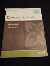 Non-Violent Crisis Intervention Seminar Materials