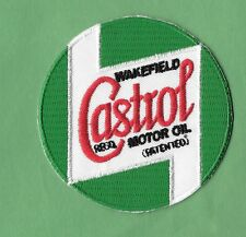 "New Castrol Motor Oil ' Green '  3  "" Inch  Iron on Patch Free Shipping"