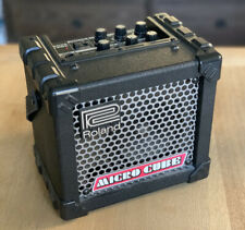 Roland Micro Cube Guitar Amplifier (Black) Battery Powered