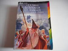 LE SEIGNEUR DES ANNEAUX1 . LA COMMUNAUTE DE L'ANNEAU - J.R.R. TOLKIEN - FOLIO