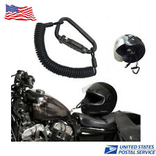 Universal Black Motorcycle Helmet Lock Helmet Combination Lock Security Kit