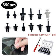 Car Body Plastic Push Pin Rivet Trim Fastener Screwdriver Kit 350pcs Clips Nylon