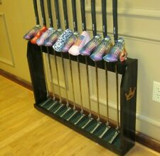 Wood Floor Display Rack for 10 Scotty Cameron Putters Golf Clubs & Head covers