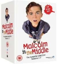 MALCOLM IN THE MIDDLE Complete Series Collection DVD NEW (R2 - Not USA Compatib)