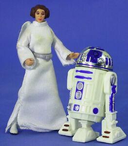 STAR WARS POTF LOOSE VERY RARE PRINCESS LEIA COLLECTION R2-D2 & PRINCESS LEIA.