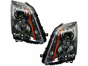 For 2008-2014 Cadillac CTS Headlight Assembly Set 14847QP 2012 2009 2010 2011