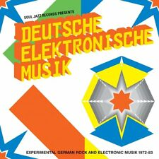 SOUL JAZZ RECORDS - DEUTSCHE ELEKTRONISCHE MUSIK 1972-83 (NEW EDITION) 2 CD NEU