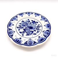 Vintage Wandteller/Zierteller A130 Delft Blue Made in Holland Handwork AG 13cm