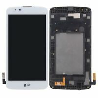 LCD Touch Screen Digitizer Replacement +Frame For LG K7 K330 LS675 MS330 WH BK