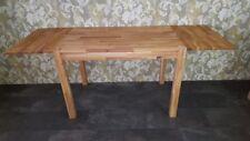 Esstisch 2 Ansteckplatten Esszimmertisch Küchentisch 110x70cm Eiche massiv geölt
